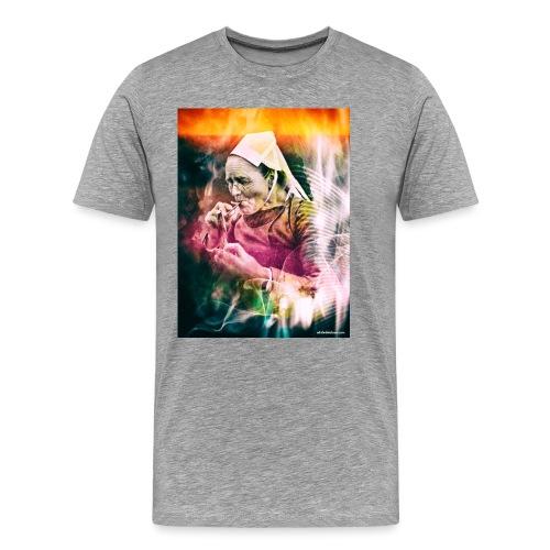 fumeuse bretonne - T-shirt Premium Homme