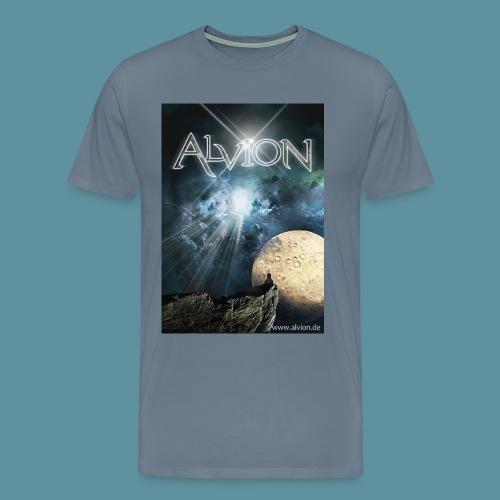 Alvion2DieSuche jpg - Männer Premium T-Shirt