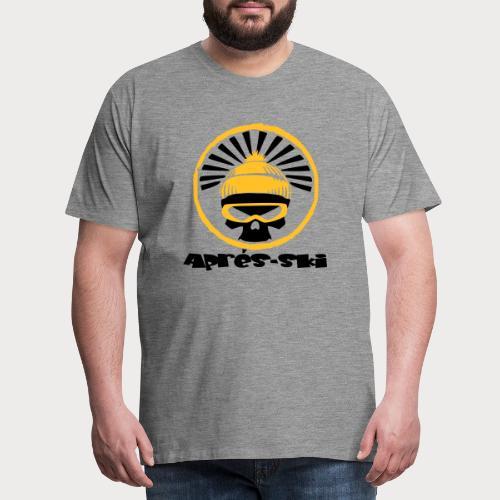 apres ski skull - Männer Premium T-Shirt