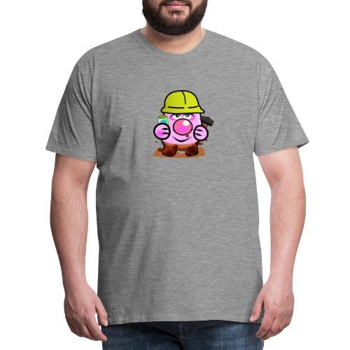 Handwerker Schwein - Männer Premium T-Shirt
