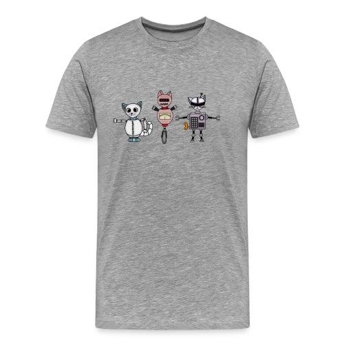 catbots - Premium-T-shirt herr
