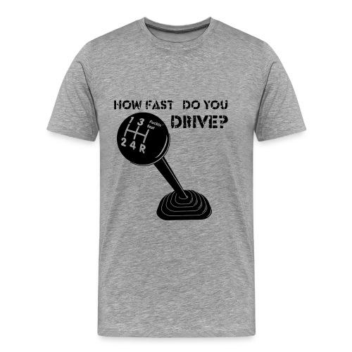 FuFa mit Text - Männer Premium T-Shirt