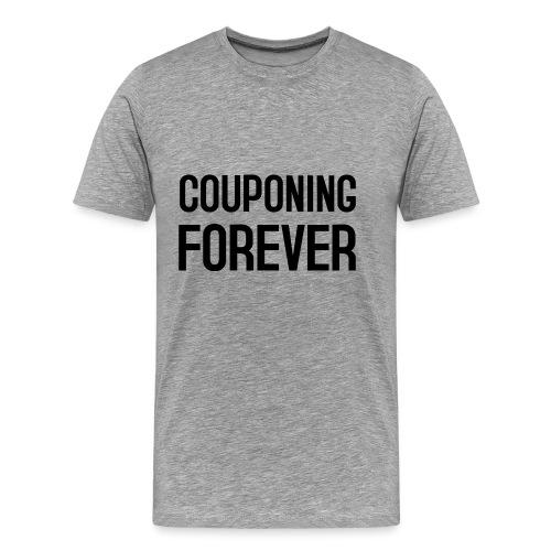 COUPONING FOREVER - Männer Premium T-Shirt