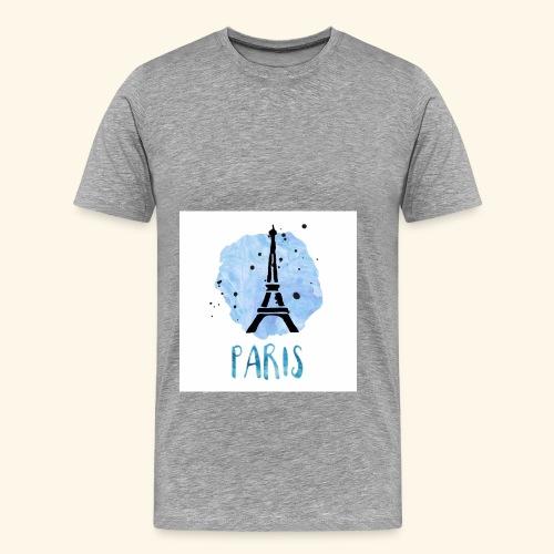 Paris - Mannen Premium T-shirt