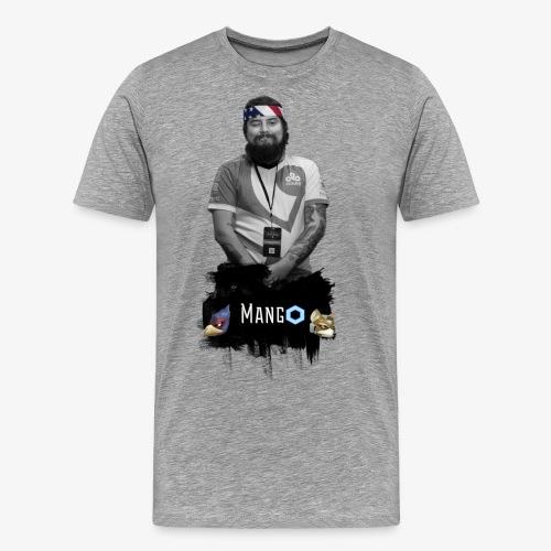 mango vintage png - Männer Premium T-Shirt
