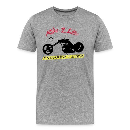 chopper4ever2 - T-shirt Premium Homme