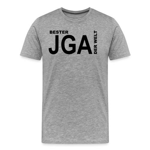 Bester JGA der Welt - Männer Premium T-Shirt