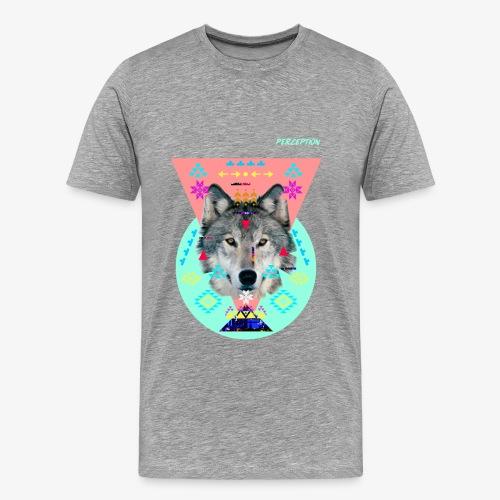LOUP PERCEPTION 6 PERCEPTION CLOTHNIG - T-shirt Premium Homme