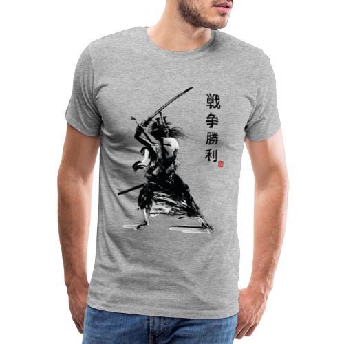 Samurai - Maglietta Premium da uomo