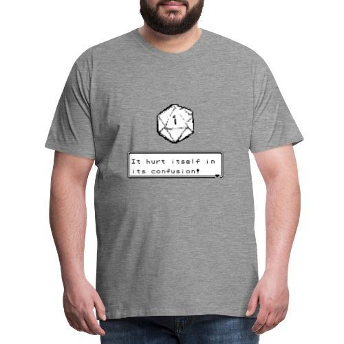 Échec critique lui-même dans la confusion D & D DnD - T-shirt Premium Homme
