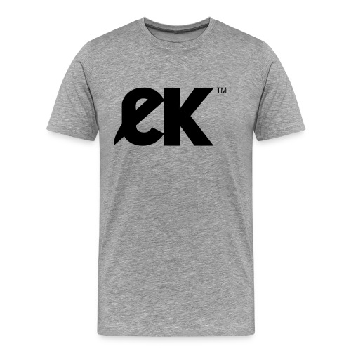 EK logo Black Central - T-shirt Premium Homme