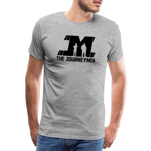 Black JourneyMen Logo - Men's Premium T-Shirt