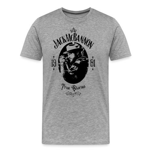 Jack McBannon - True Stories Portrait - Männer Premium T-Shirt