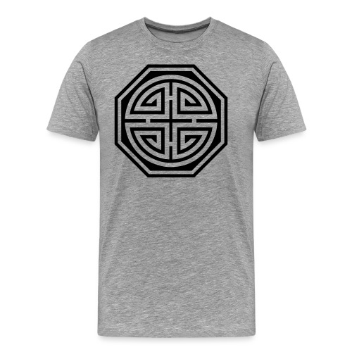 Chinesisches Glücks Symbol, Four Blessings, Segen - Männer Premium T-Shirt