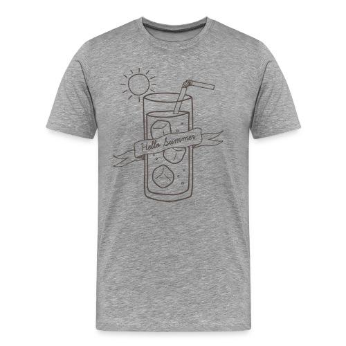 Hello Summer - T-shirt Premium Homme
