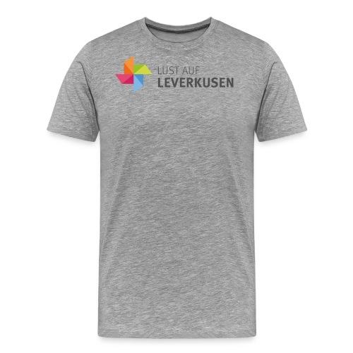 LOGO LUST AUF LEVERKUSEN Hohe Auflösung png - Männer Premium T-Shirt
