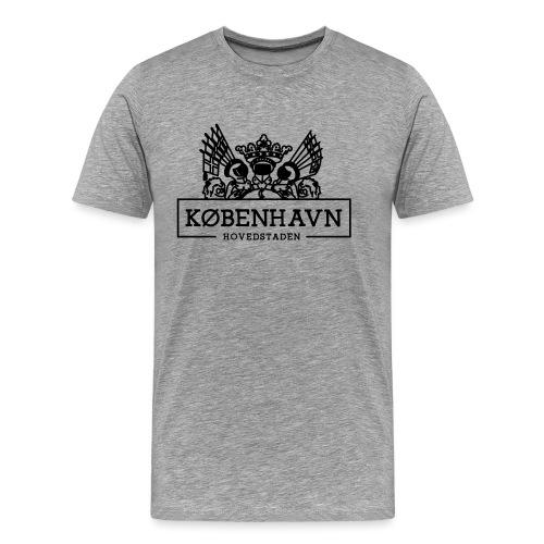 KØBENHAVN - Hovedstaden - Herre premium T-shirt