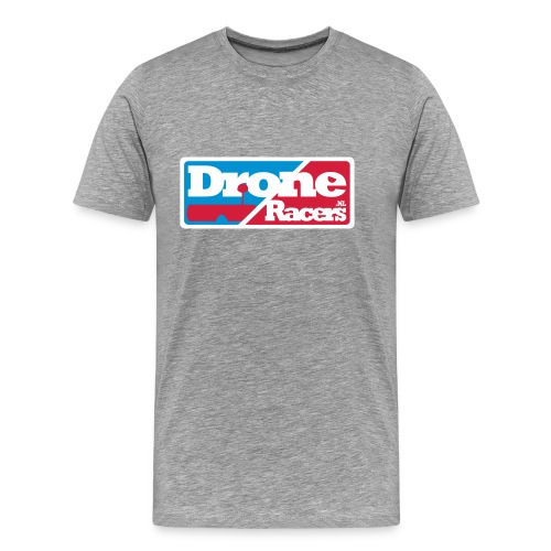 droneracers_logo_final - Mannen Premium T-shirt