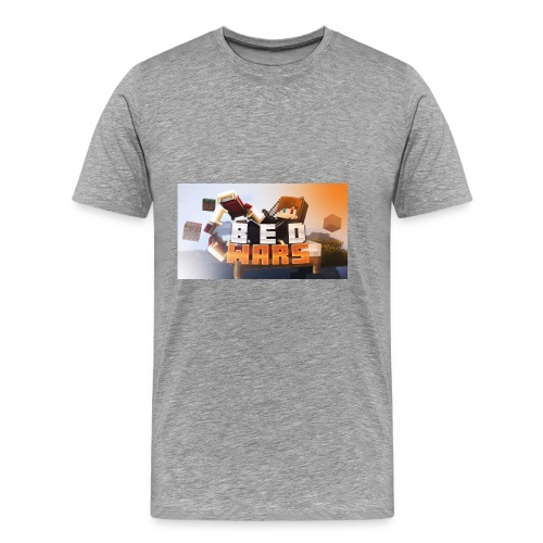 bedwars merch - Men's Premium T-Shirt