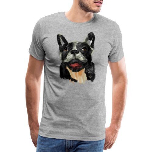 French Bulldog Portrait - lebendig und urban - Männer Premium T-Shirt
