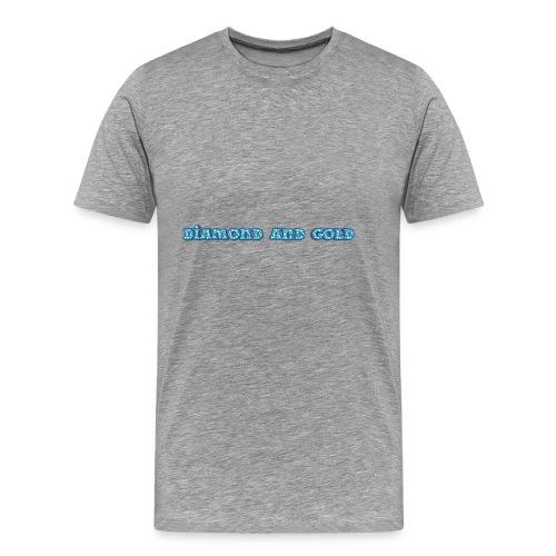 Diamond And Gold - Premium-T-shirt herr