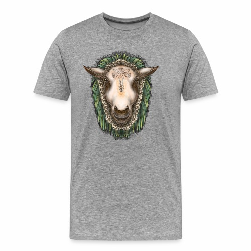 Zed The Sheep by Jon Ball - Men's Premium T-Shirt