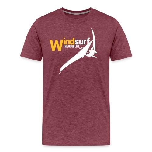 Windsurf - Maglietta Premium da uomo