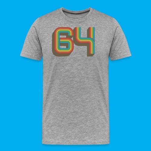 64 - Men's Premium T-Shirt