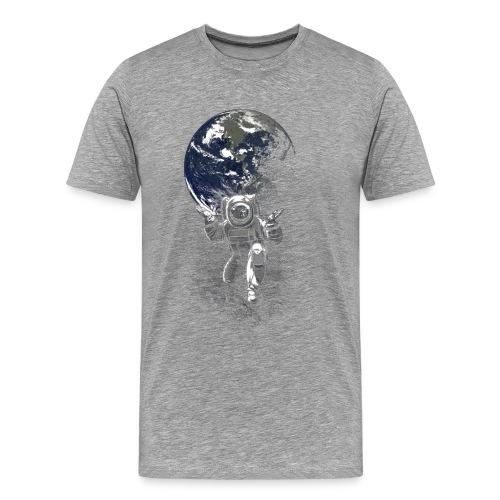 atlasfunnyspacemenBlackBa - T-shirt Premium Homme