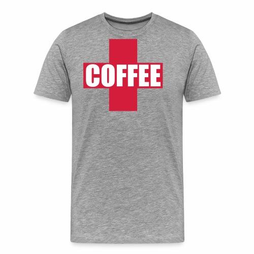 First Aid Coffee - Men's Premium T-Shirt