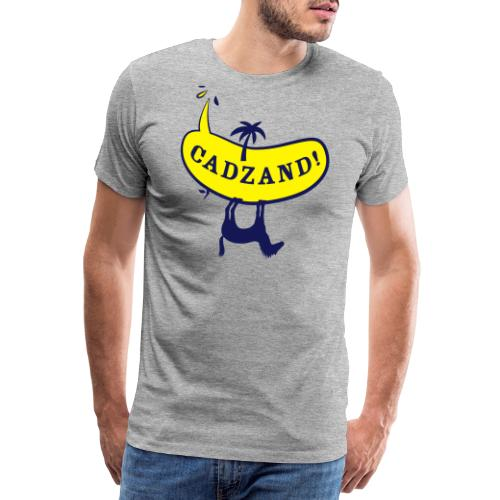Lui Paard Cadzand uitroep - Mannen Premium T-shirt