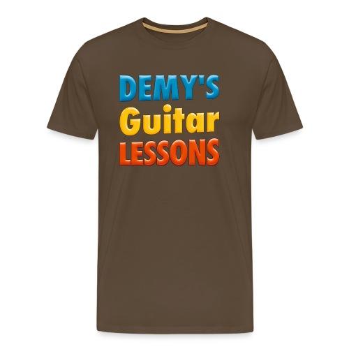demys guitar lessons logo groot - Men's Premium T-Shirt