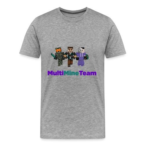 Multi Mine Team png - Men's Premium T-Shirt