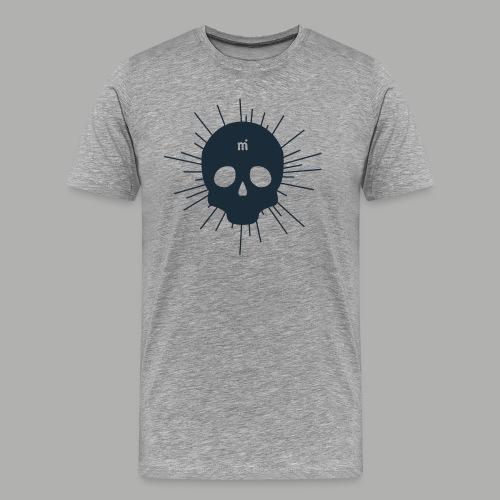 MI-skalle - Premium-T-shirt herr