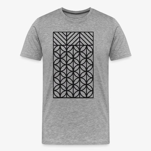 abstrakte Figuren - Männer Premium T-Shirt