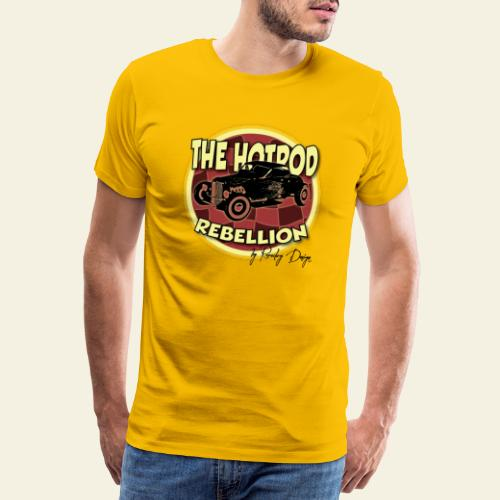 hotrod rebellion - Herre premium T-shirt