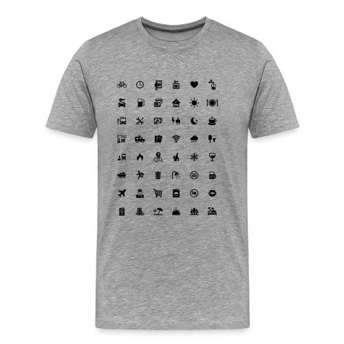 Picture Language - Männer Premium T-Shirt