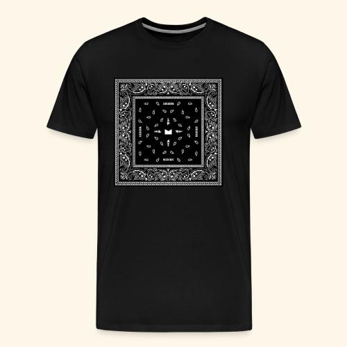 Bandana Shirt JPG - Männer Premium T-Shirt