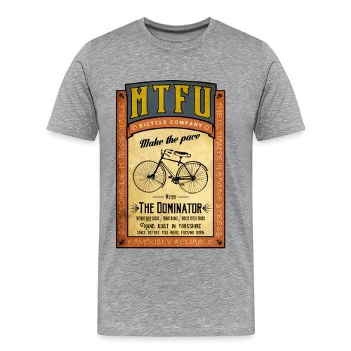MTFU cycle poster - Men's Premium T-Shirt
