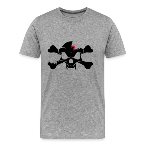 SKULL N CROSS BONES.svg - Men's Premium T-Shirt