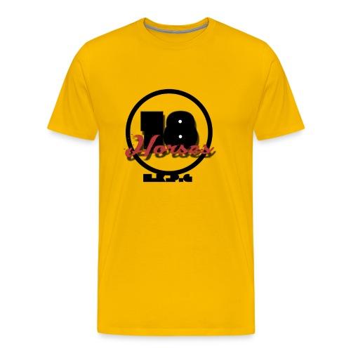 18 Horses - NKPG (Black) - Premium-T-shirt herr