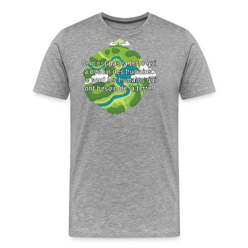 our earth - Men's Premium T-Shirt