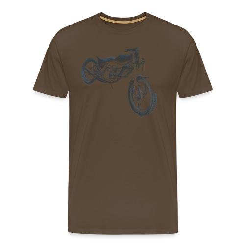 bike (Vio) - Men's Premium T-Shirt