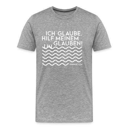 Jahreslosung 2020 Bibelvers - Männer Premium T-Shirt