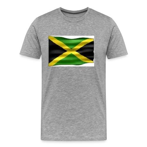 Jamaica - rintamerkki 56mm - Miesten premium t-paita