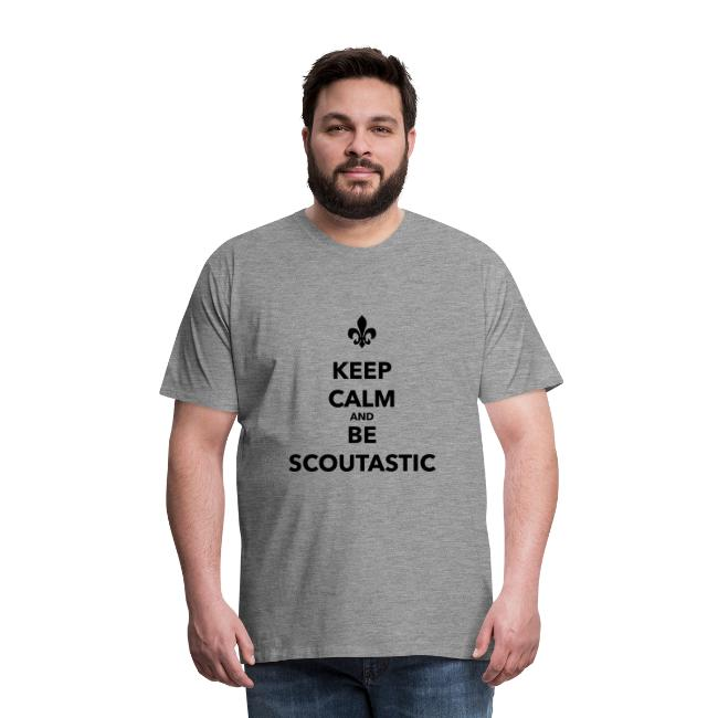 Keep calm and be scoutastic - Farbe frei wählbar