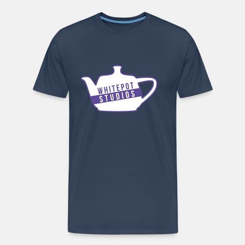 Whitepot Studios Logo - Men's Premium T-Shirt