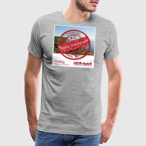 OFFICIAL DANE png - Herre premium T-shirt