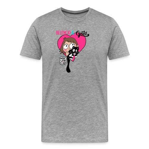 Belencio & Gatete - Camiseta premium hombre