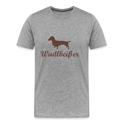 wadlbeisser_dackel - Männer Premium T-Shirt